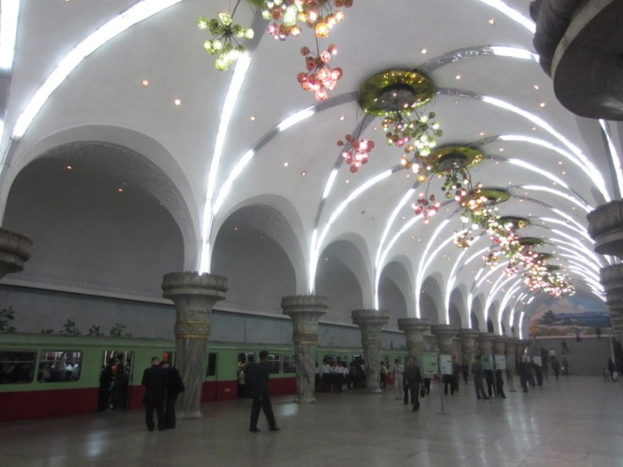 Pyongyang's metro system puts any 5-star hotel lobby to shame