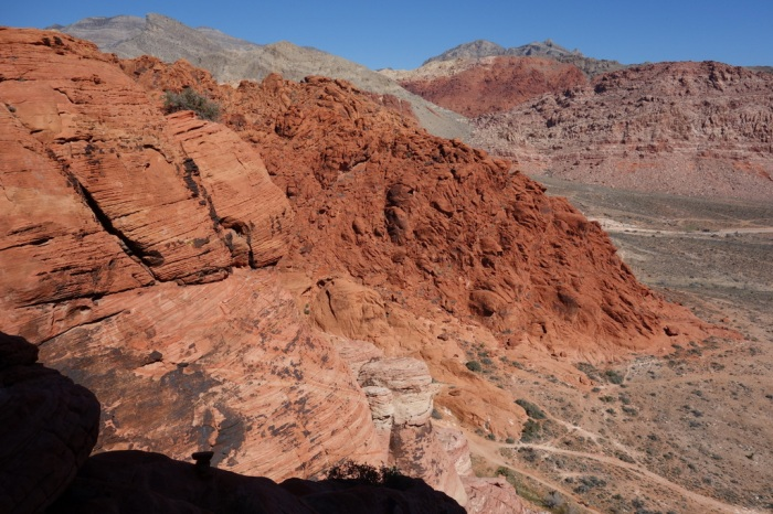Climbing in Red Rock Canyon