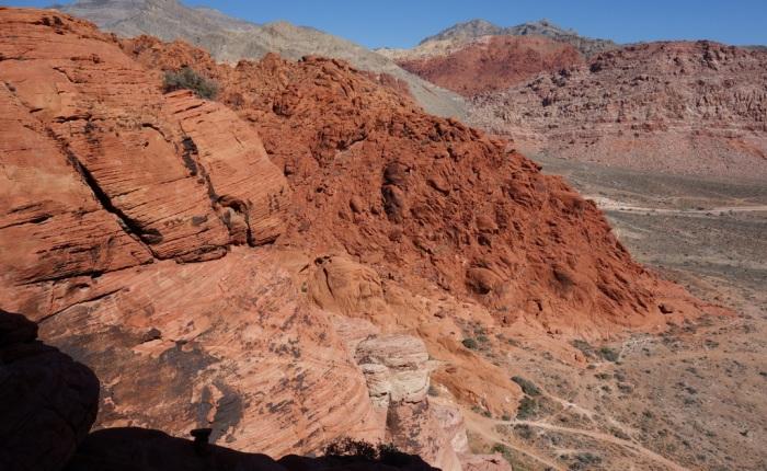 Climbing in Red RockCanyon