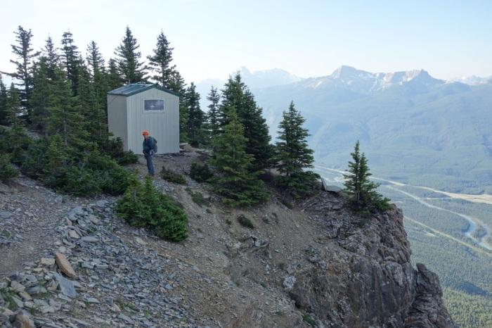 ACC hut on Castle Mountain
