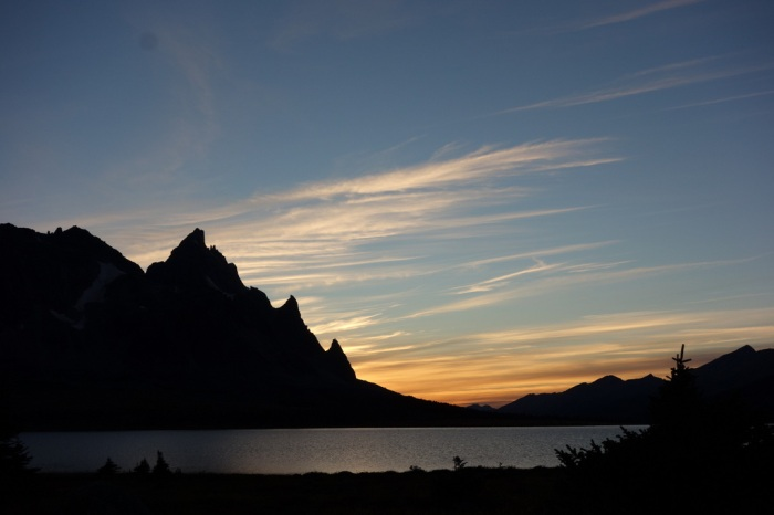 Sunset in Tonquin Valley