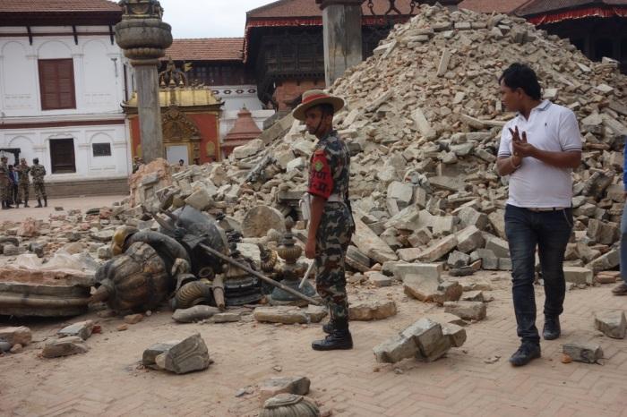 Surveying the damage