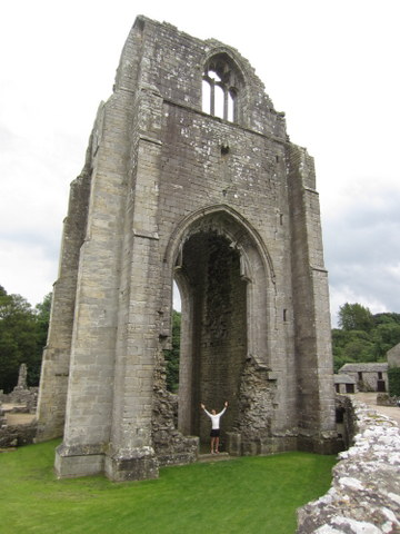 Shap Abbey, built around 1200