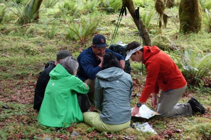 Andrew Skurka teaches map & compass navigation
