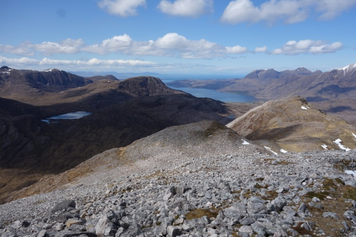 Loch Torridon and little Loch an Eion to the left
