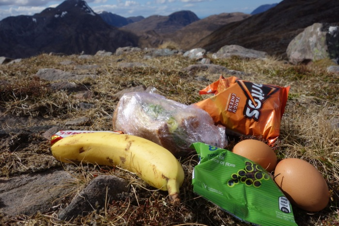 Packed lunch from the hostel