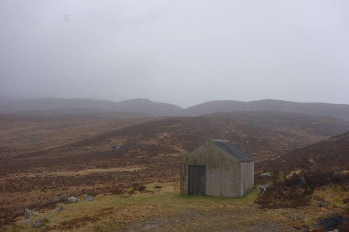 Hydro Bothy, a welcome break from the rain