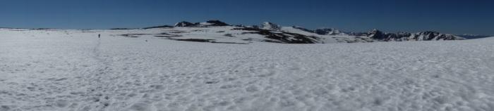 Bighorn Flats at 12,000 feet