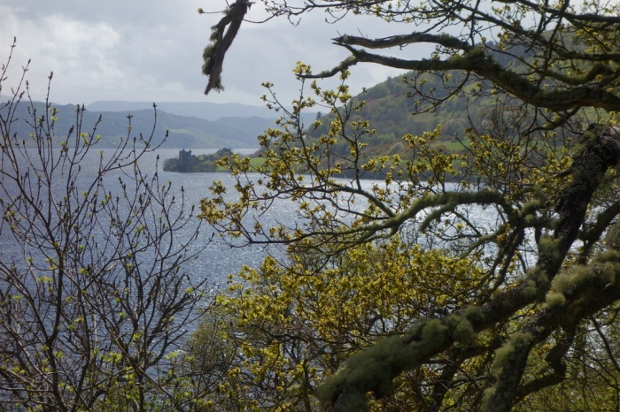 I spy Urquhart Castle in the distance