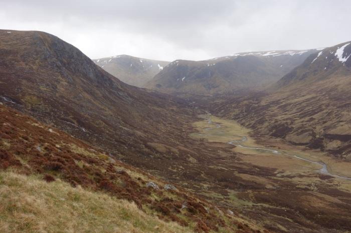 Ascending Lochnagar