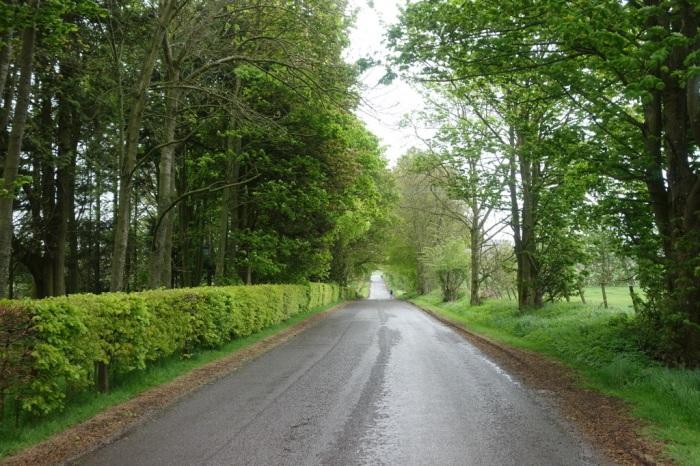 It's a long walk along the road