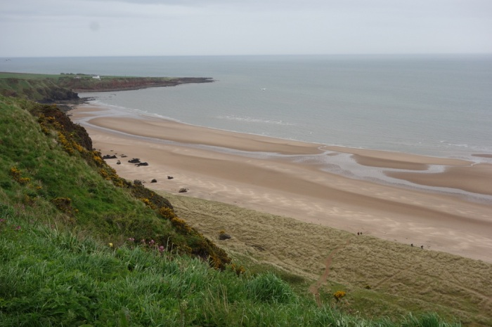 Beautiful beaches of St Cyrus