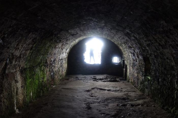 Dunnottar Castle's prison