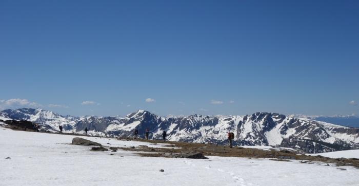Crossing Bighorn Flats