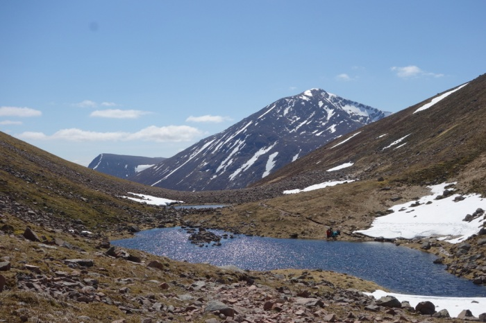 A beautiful sunny day to visit Lairig Ghru