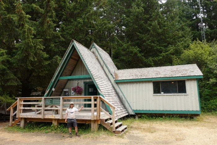All done! - Pachena Bay information center