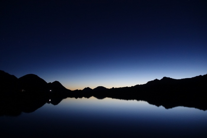 Sunrise at 5am