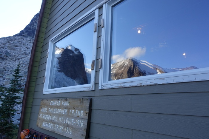 Reflections from the Kain Hut