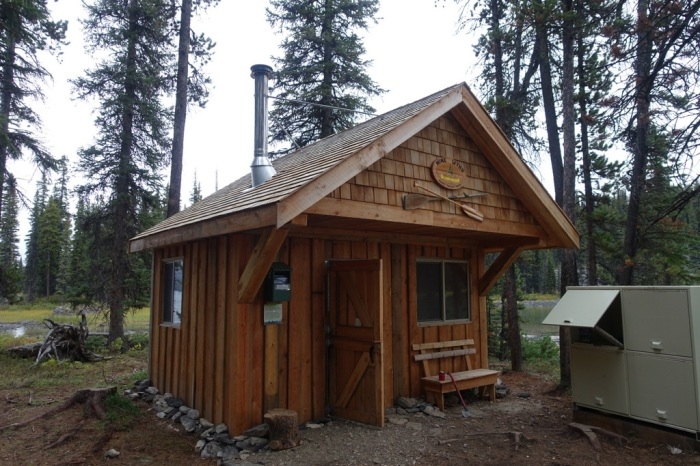 A welcome shelter greets chilly guests