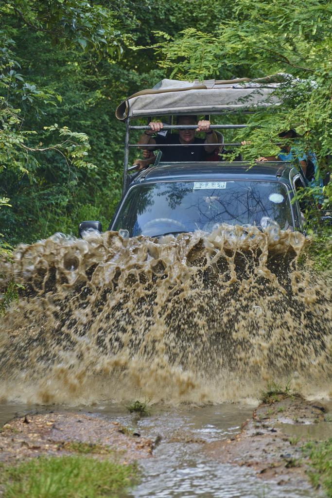 Massive mud puddle!