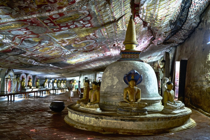 Dambulla's Golden Temple