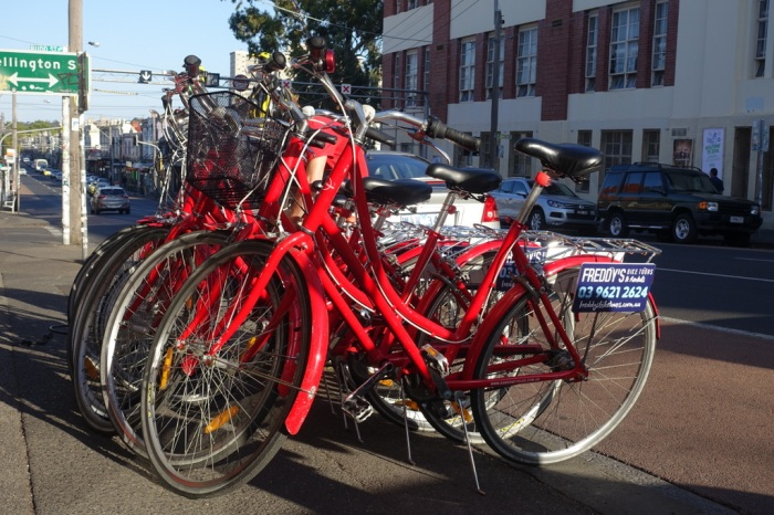 Exploring Melbourne with Freddy's BikeTours