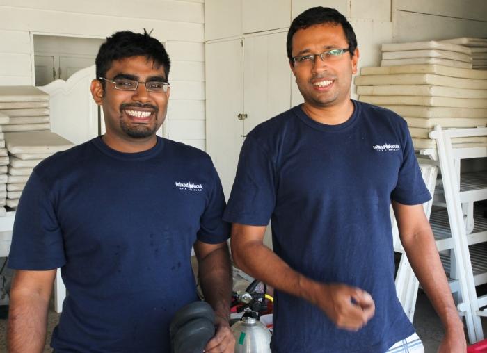 Naren and Nishan