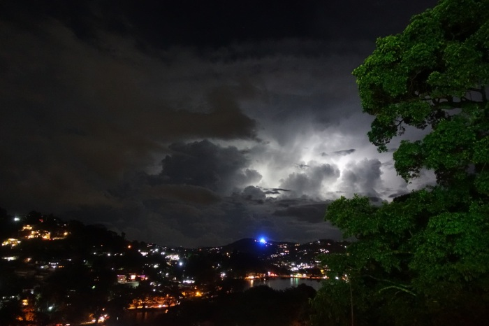 Thunderstorm over Kandy