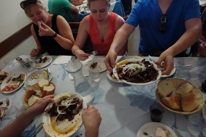Authentic Greek food at Jim's Greek Tavern