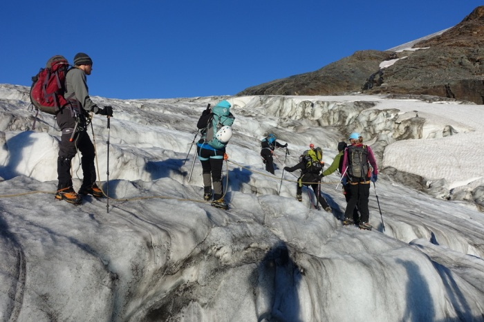 August - Navigating crevasses and conquering alpine peaks in BC