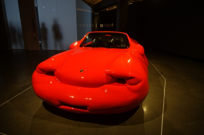 """Fat Porsche"" - symbol of excess"