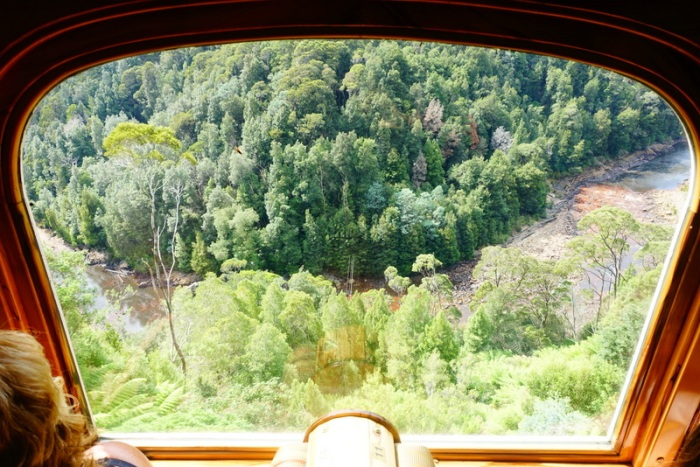 King River Gorge far, far below