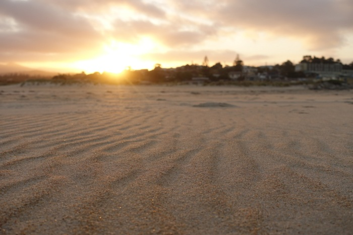 Sunset over Scamander Beach