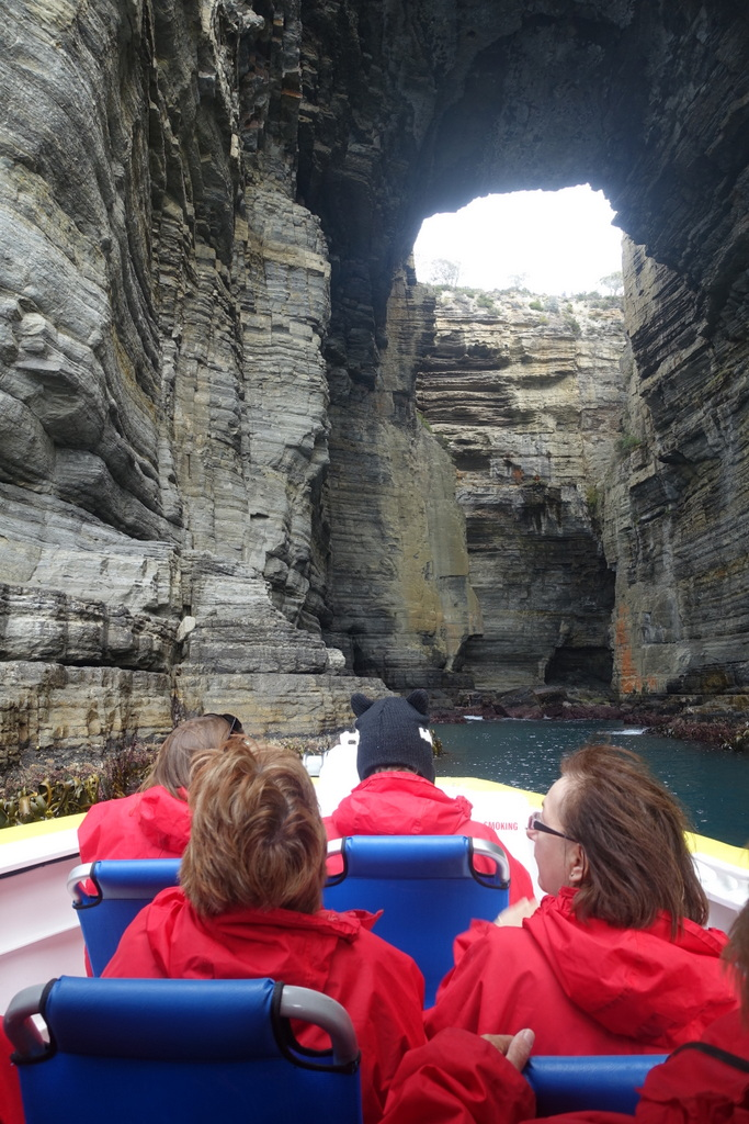 Inside Tasmans Arch