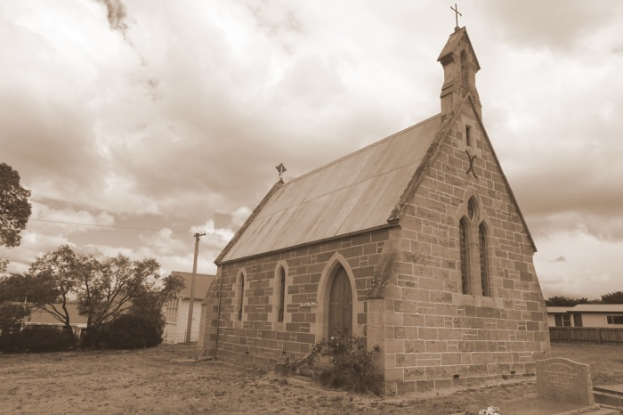 An old church in the town of Ouse