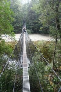 Franklin River Swing Bridge