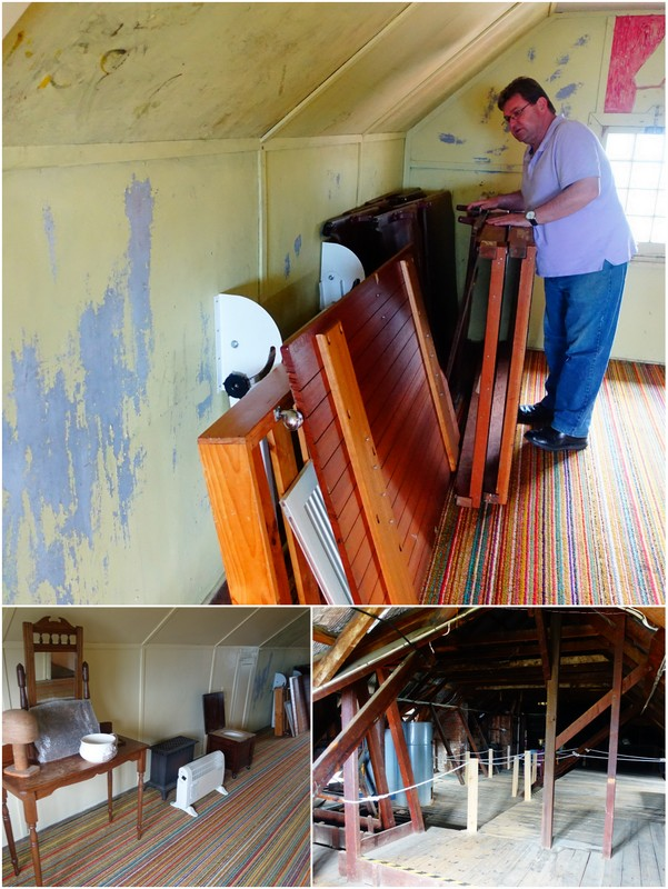 Steve gives us a tour of the attic and searches for long-lost treasures