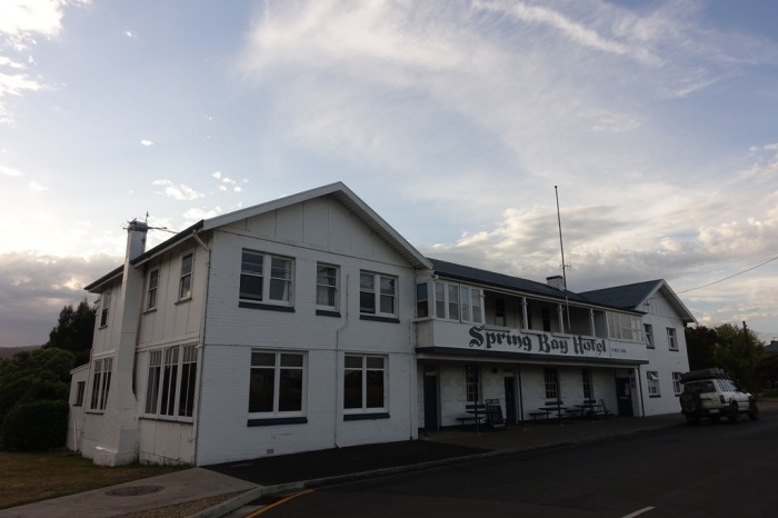 Spring Bay Hotel in Triabunna