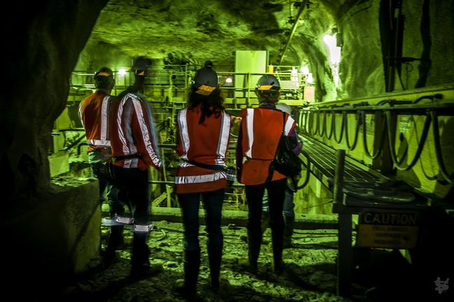 Exploring the depths of a working copper mine Photo credit: Queenstown Heritage Tours