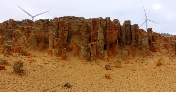 "Cape Bridgewater - ""The Petrified Forest"""