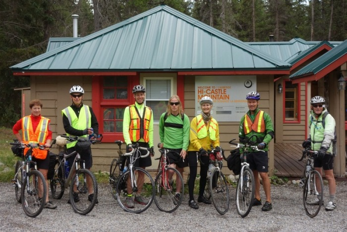 Canada, 2013 - Cycling the Icefield Parkway with good friends.