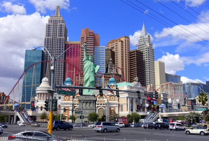 Only in Vegas does all of New York fit into a single hotel