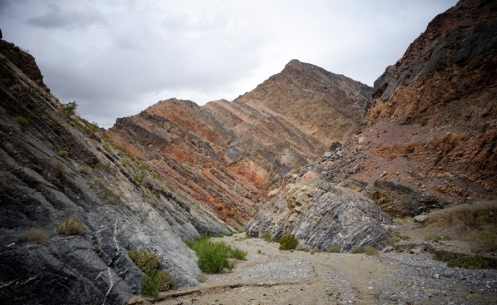 Backpacking Death Valley's Cottonwood-Marble Canyon Loop