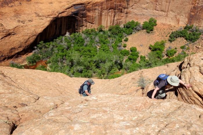 That's a pretty steep climb