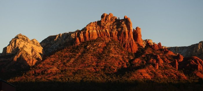 December - desert magic in Sedona