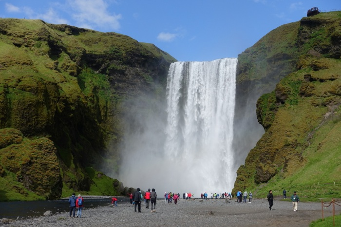 June - Iceland's thundering waterfalls