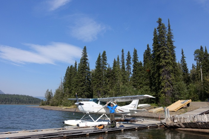 Loading up on Alpine Lakes Air to fly into the park