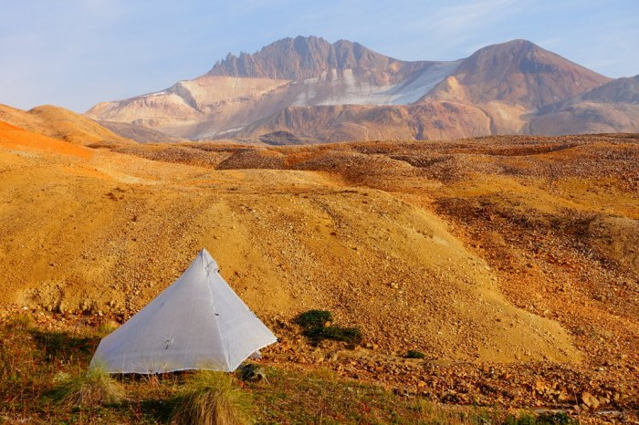 Camping under Tadeda Peak