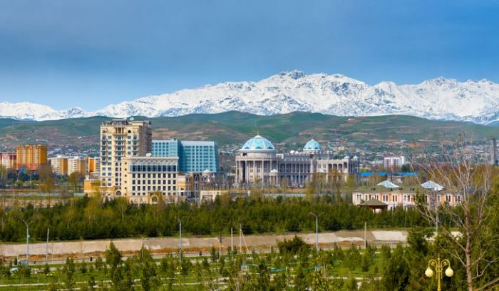 Dushanbe, the capital of Tajikistan