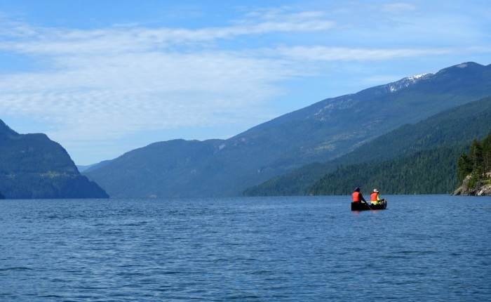Escaping to Slocan Lake